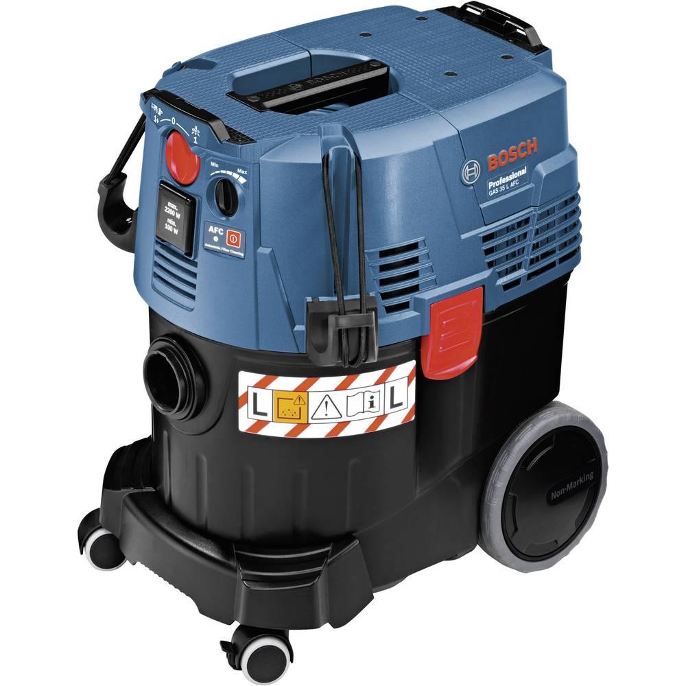 Sesalnik za mokro in suho čiščenje Bosch GAS 35 L AFC Professional, prostornina posode 35 L, največja moč 1380 W, 06019C3200