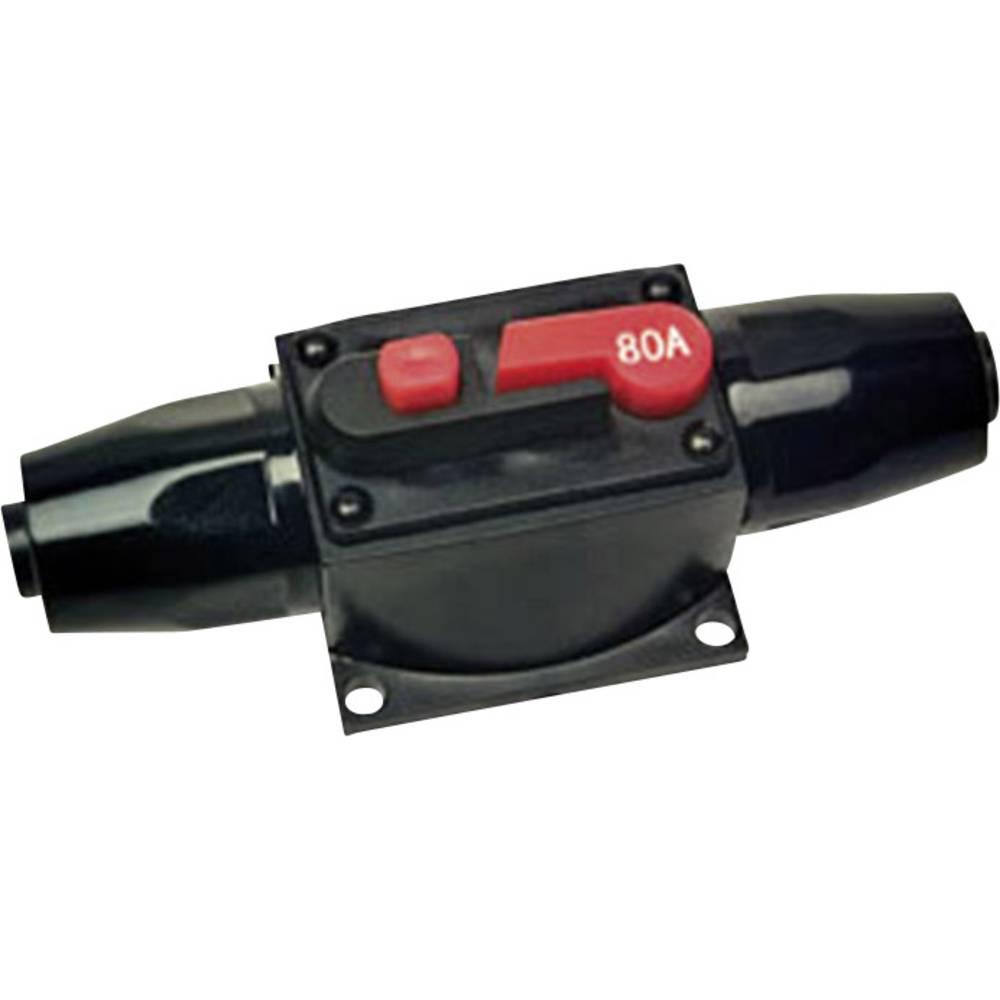 Car-HiFi automatisk sikring Sinuslive AS80 Passer til: 80 A Stænkvandsbeskyttet