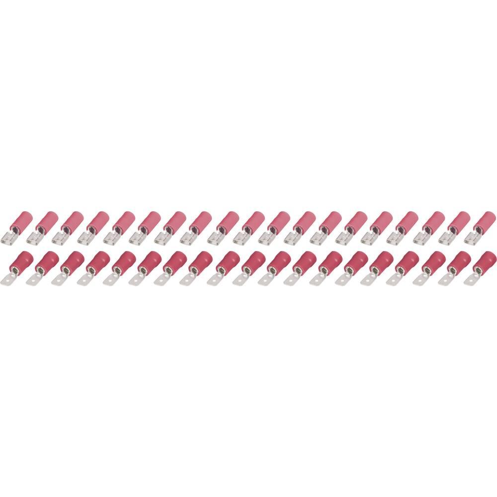 Plosnati utikači i utične čahure, 4,8 mm, 0,25 do 1,5 mm2, 40 kom. 323202 (325222+329228) KSP 4,8-1-0,5 FSP 4,8-1-0,5