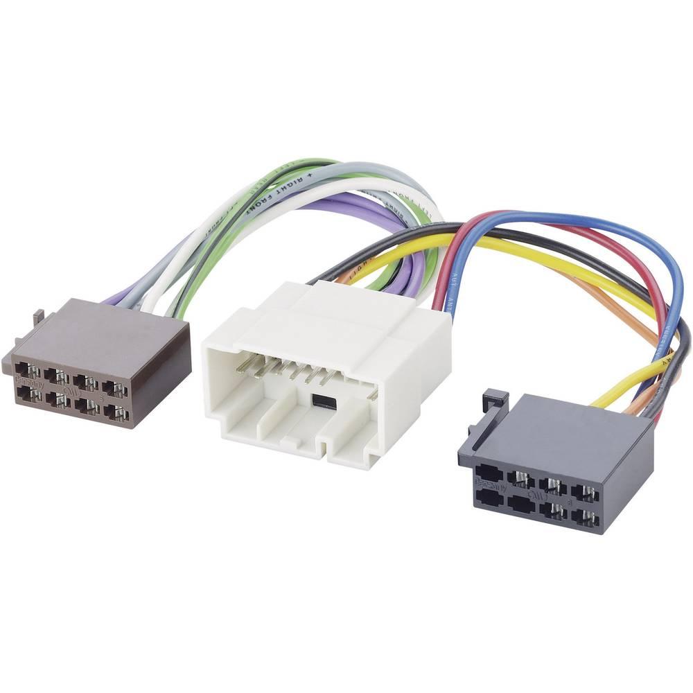 AR-LS-adapterkabel AIV 41C993 ISO Honda fra 01.99., Opel Agila 2008, Opel Astra 2008