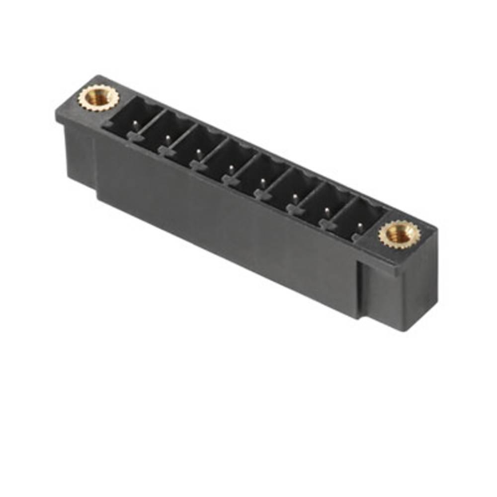 Vtični konektor za tiskana vezja črne barve Weidmüller 1943550000 vsebuje: 50 kosov