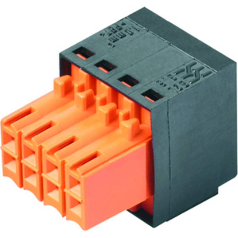 Vtični konektor za tiskana vezja črne barve Weidmüller 1944610000 vsebuje: 102 kosa