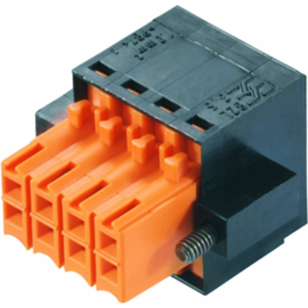 Vtični konektor za tiskana vezja črne barve Weidmüller 1944700000 vsebuje: 66 kosov