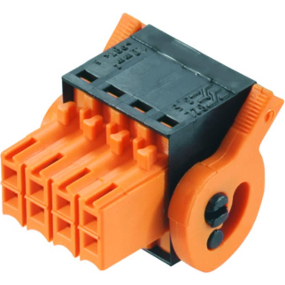 Vtični konektor za tiskana vezja črne barve Weidmüller 1944760000 vsebuje: 90 kosov