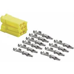 Mini ISO rumeni vtič + 10 kontaktov AIV