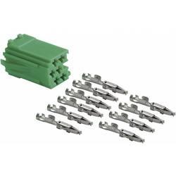 Mini ISO zeleni vtič + 10 kontaktov AIV