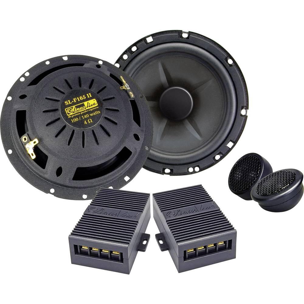 Komplet 2-sistemskih vgradnih zvočnikov za avtomobile 140 W Sinuslive SL-165 II