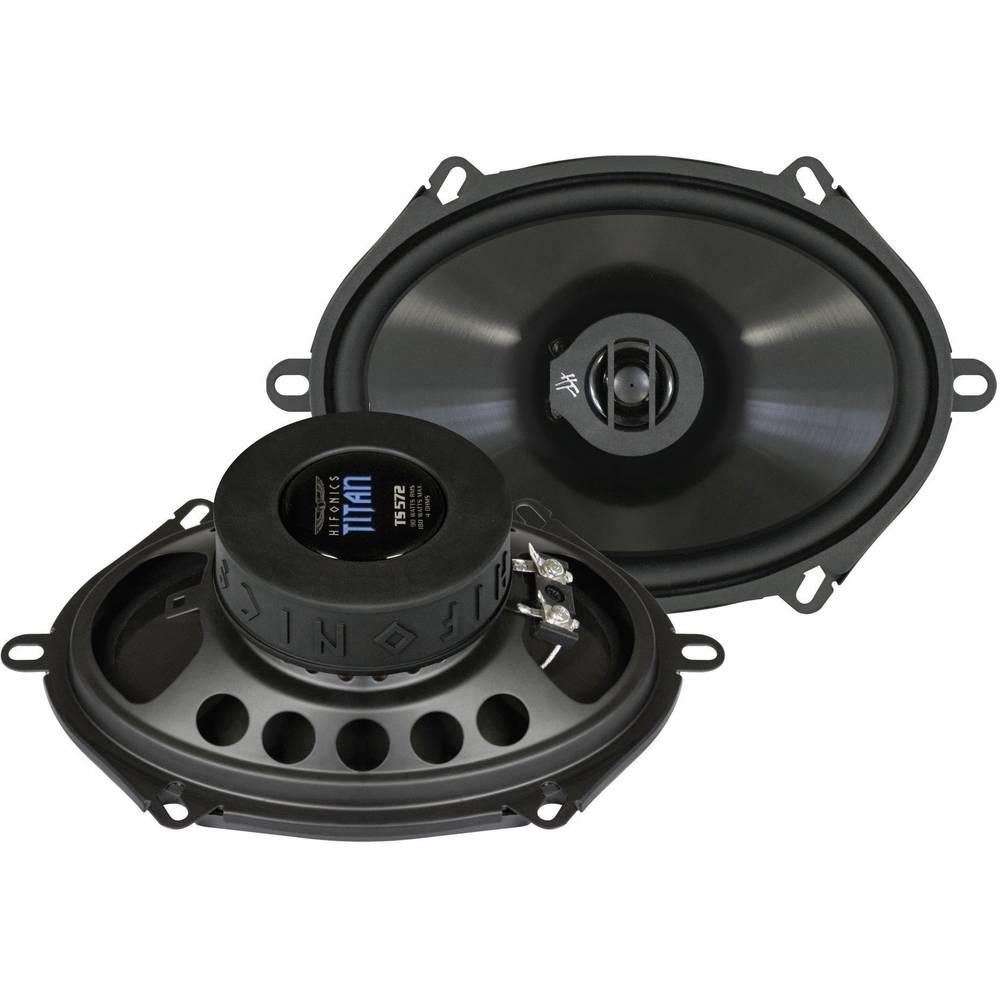 2-sustavni koaksijalni zvučnici Hifonics Titan 5 x 7