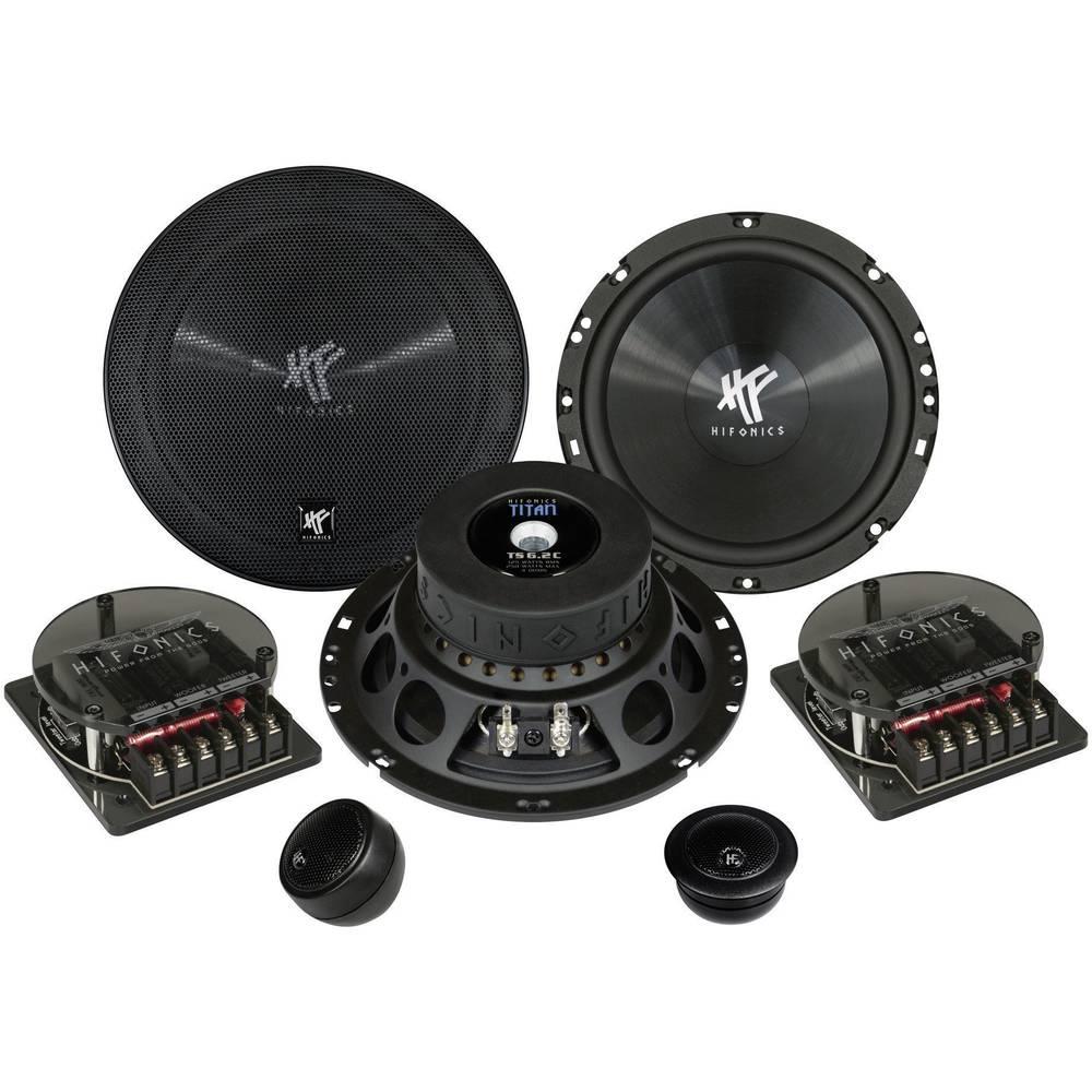 Komplet 2-sistemskih vgradnih zvočnikov za avtomobile 250 W Hifonics