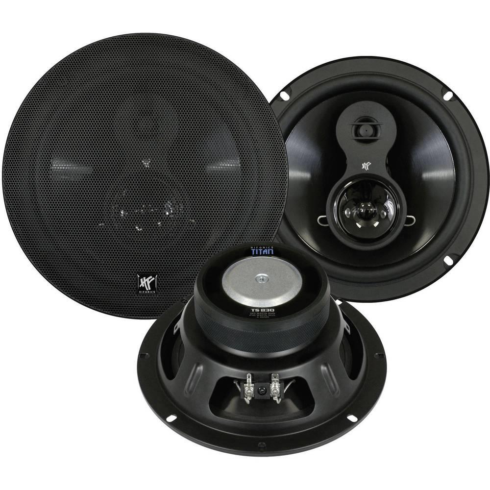 3-sistemski triaksialni vgradni zvočnik za avtomobile 250 W Hifonics