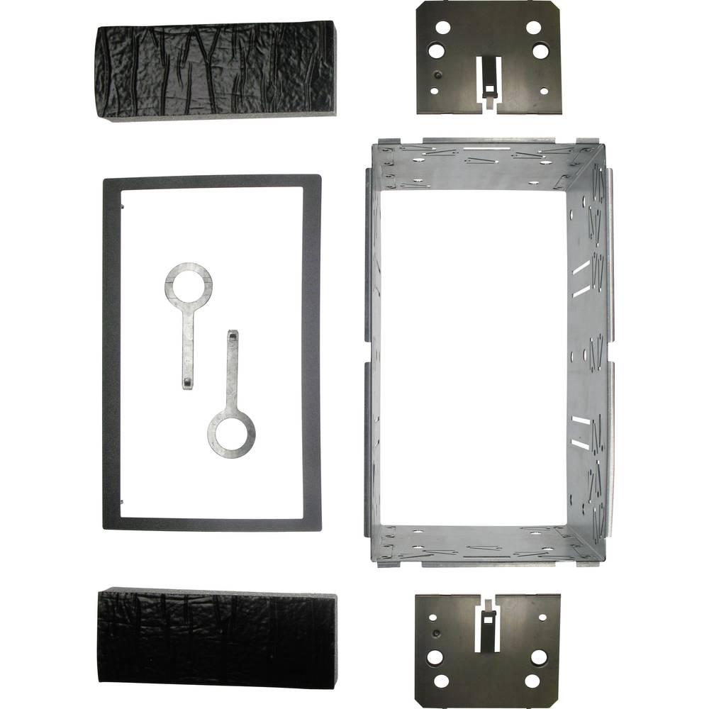 Dvojni DIN okvir za avtoradio, 183 x 101 mm, 12C513 AIV