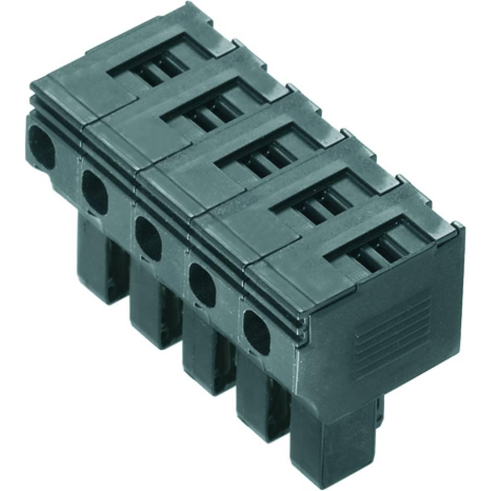 Varnostni vtični priključek, prilagodljVarnostni viv: 0.5-4 mm toga: 0.5-4 mm št. polov: 5 Weidmüller PTS 4 10 kos črna