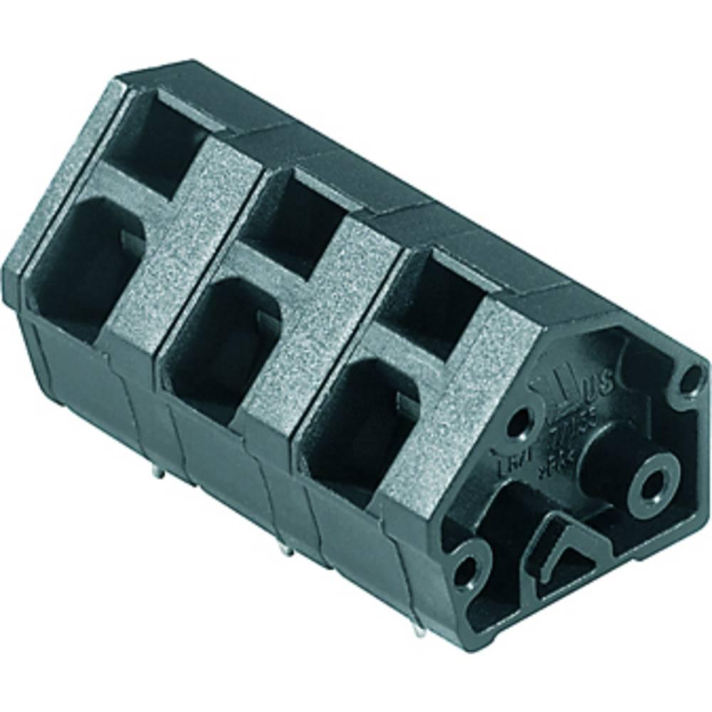 Fjederkraftsklemmeblok Weidmüller LMZF 7/10/135 3.5SW 2.50 mm² Poltal 10 Sort 100 stk