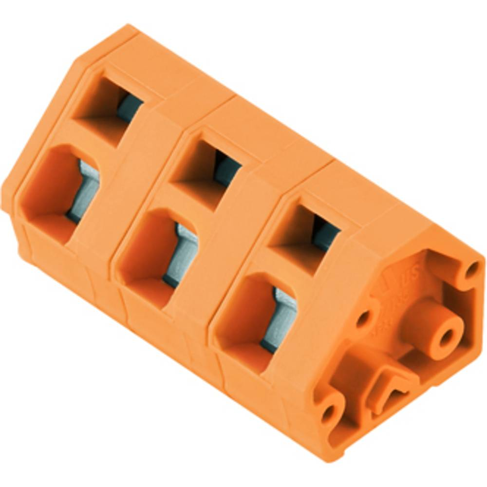 Fjederkraftsklemmeblok Weidmüller LMZF 7/3/135 3.5OR 2.50 mm² Poltal 3 Orange 100 stk