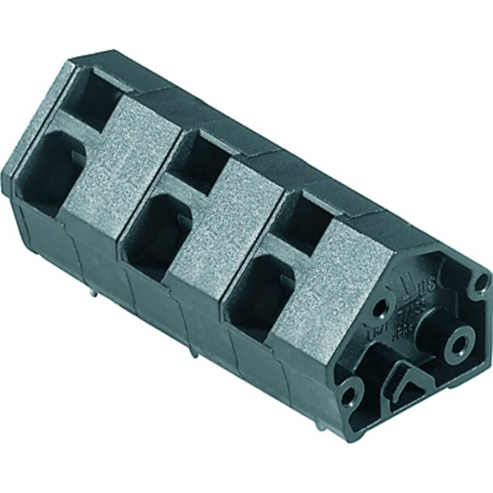 Fjederkraftsklemmeblok Weidmüller LMZF 10/2/135 3.5SW 2.50 mm² Poltal 2 Sort 100 stk