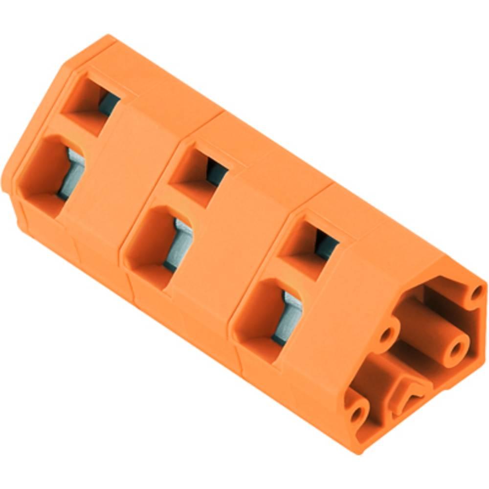 Fjederkraftsklemmeblok Weidmüller LMZF 10/9/135 3.5OR 2.50 mm² Poltal 9 Orange 100 stk