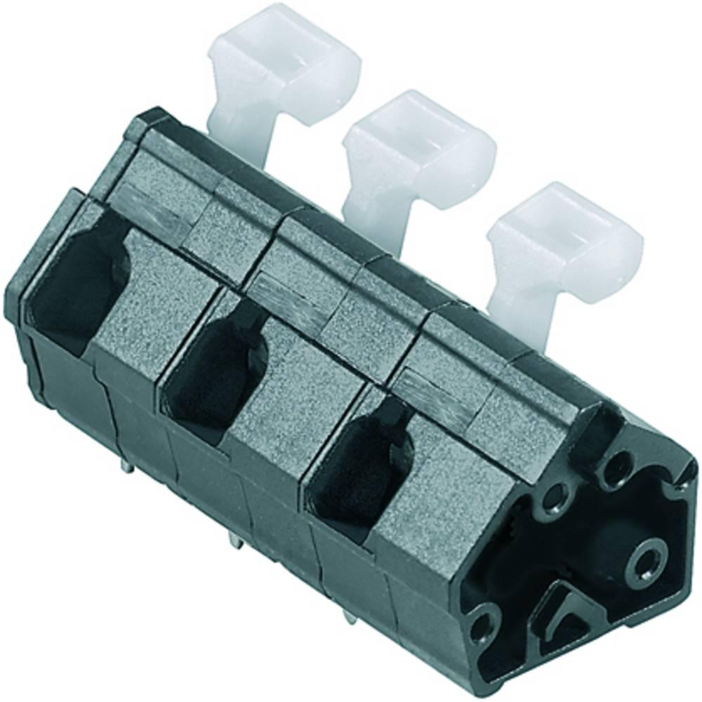 Fjederkraftsklemmeblok Weidmüller LMZFL 10/2/135 3.5SW 2.50 mm² Poltal 2 Sort 100 stk
