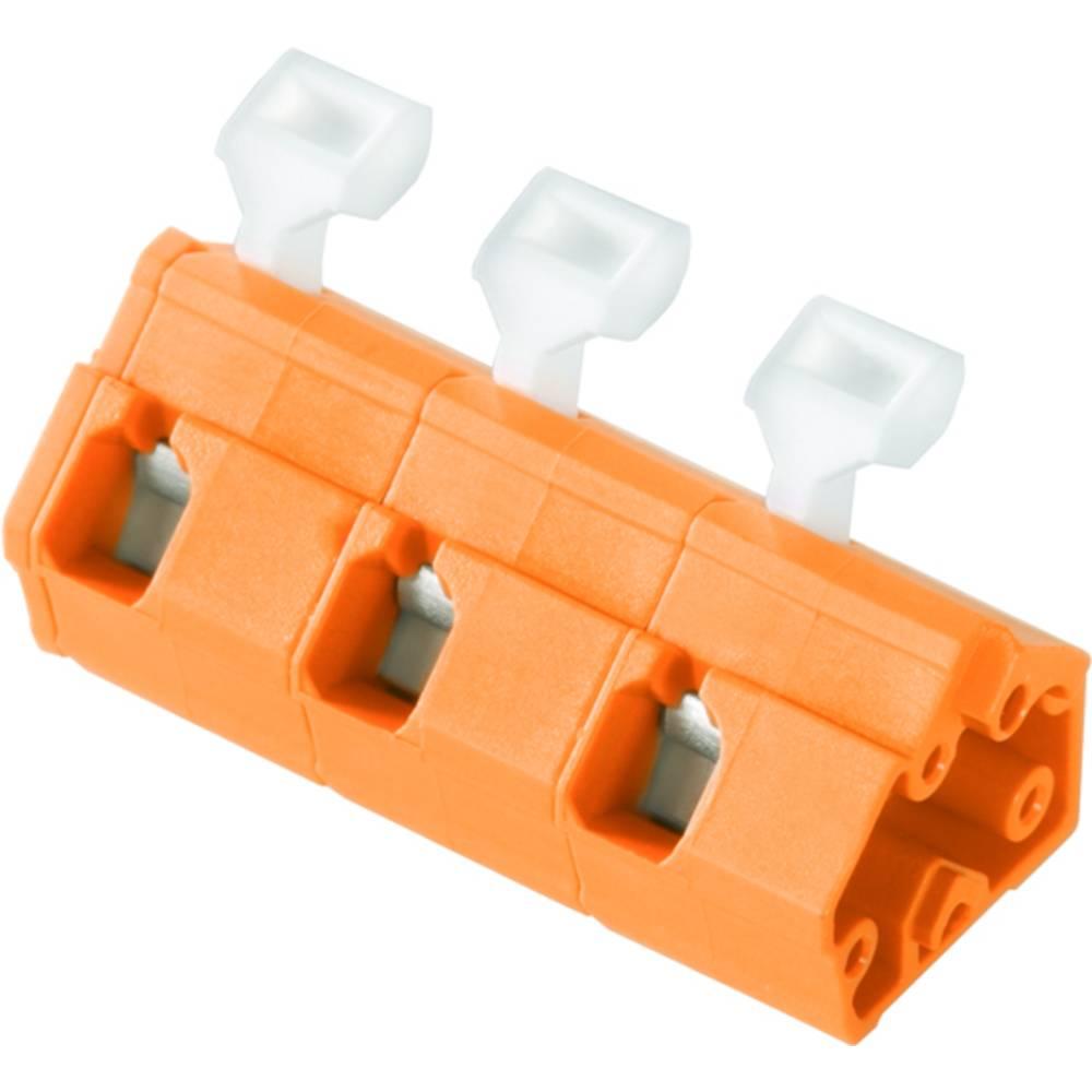 Fjederkraftsklemmeblok Weidmüller LMZFL 10/3/135 3.5OR 2.50 mm² Poltal 3 Orange 100 stk