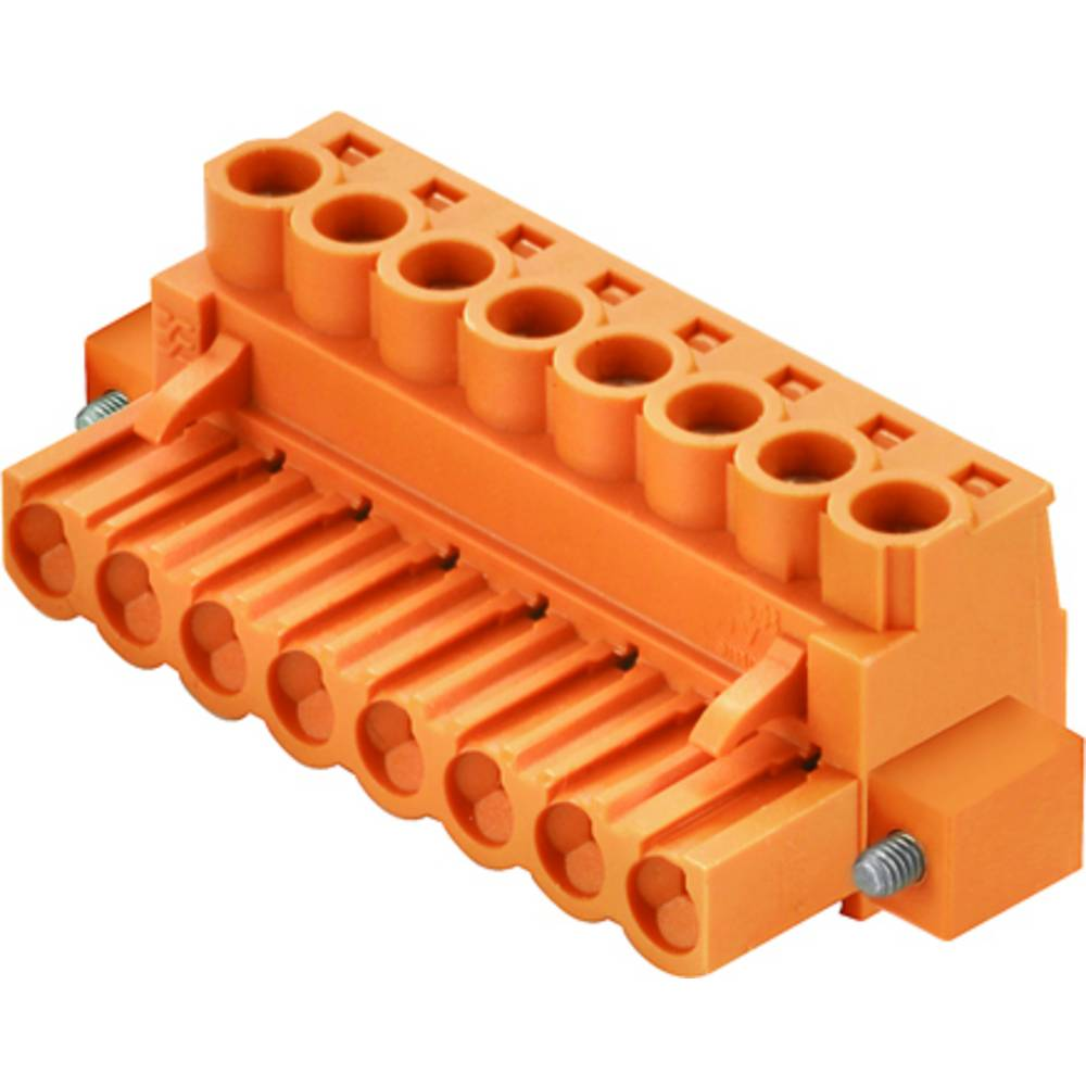 Tilslutningskabinet-kabel BL/SL (value.1360602) Samlet antal poler 6 Weidmüller 1955760000 Rastermål: 5 mm 42 stk