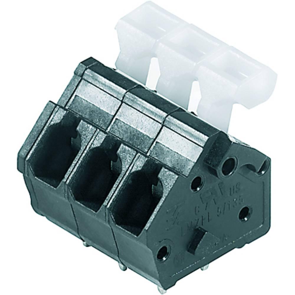 Fjederkraftsklemmeblok Weidmüller LMZFL 5/19/135 3.5SW 2.50 mm² Poltal 19 Sort 50 stk