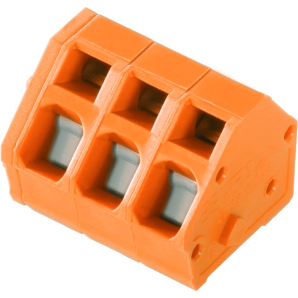 Fjederkraftsklemmeblok Weidmüller LMZF 5/15/135 3.5OR 2.50 mm² Poltal 15 Orange 100 stk