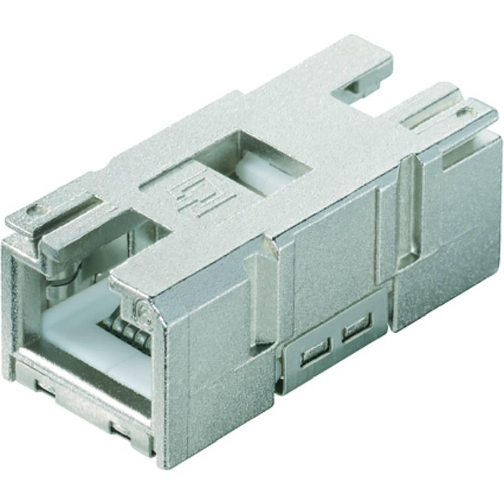 Sensor-, aktuator-stik, Weidmüller IE-BI-RJ45-C 10 stk
