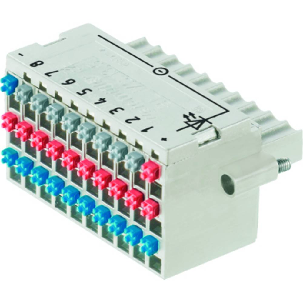 Vtični konektor za tiskana vezja Weidmüller 1965970000 vsebuje: 20 kosov