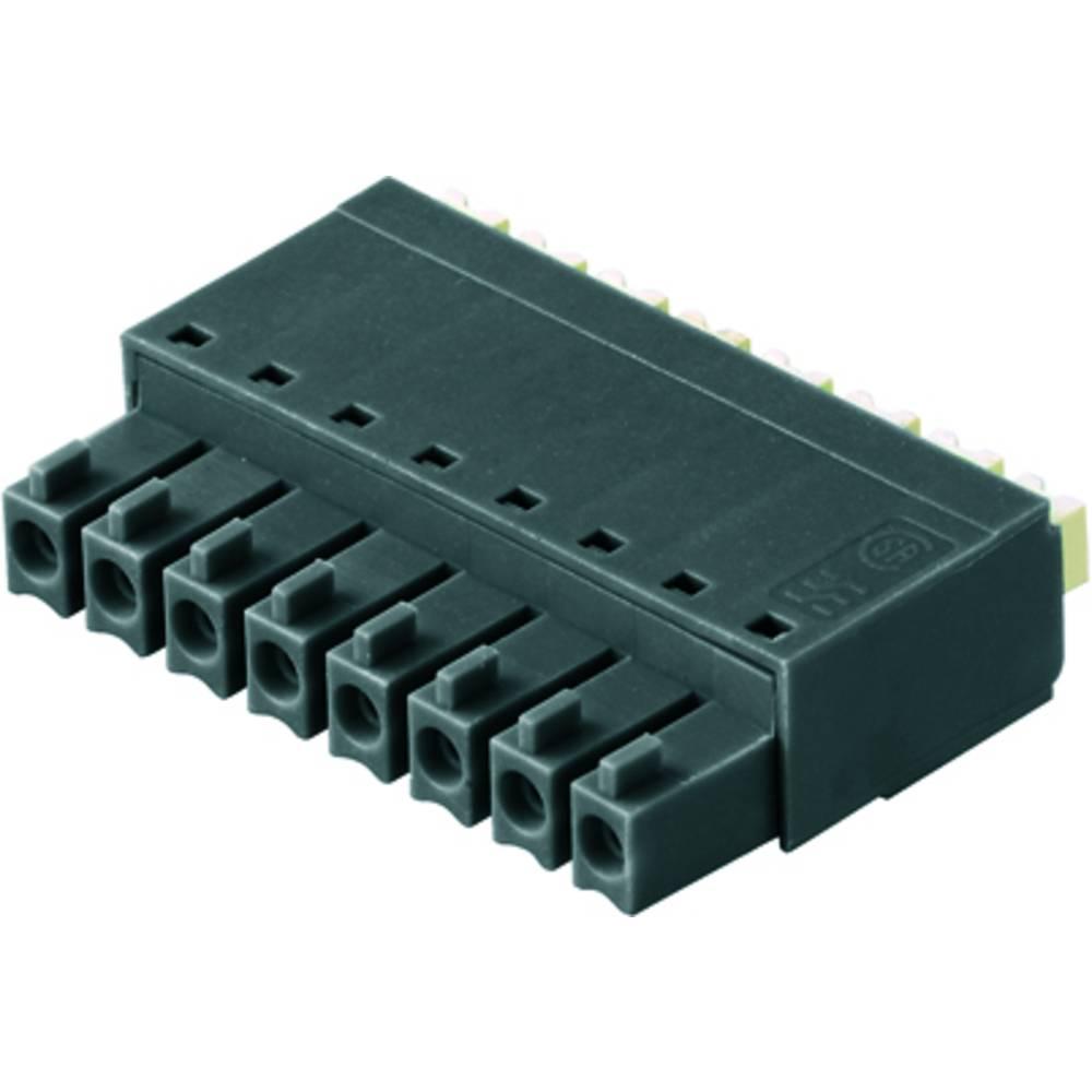 Tilslutningskabinet-kabel BC/SC (value.1360601) Samlet antal poler 8 Weidmüller 1970000000 Rastermål: 3.81 mm 50 stk