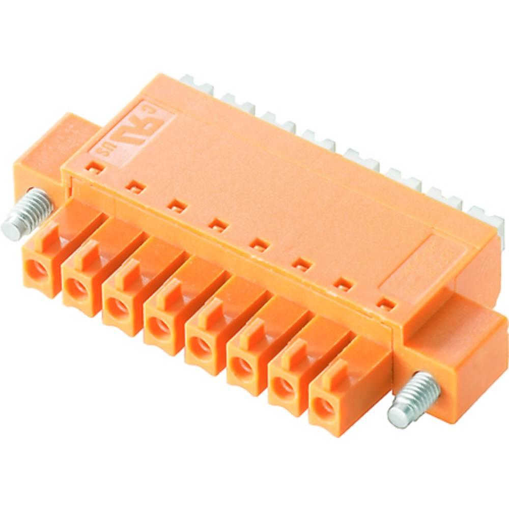 Tilslutningskabinet-kabel BC/SC (value.1360601) Samlet antal poler 8 Weidmüller 1970550000 Rastermål: 3.81 mm 50 stk