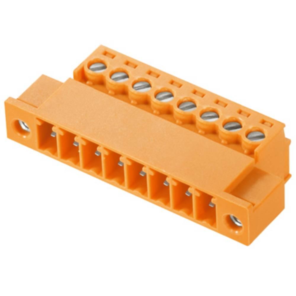 Stiftkabinet-kabel BC/SC (value.1360601) Samlet antal poler 11 Weidmüller 1971010000 Rastermål: 3.81 mm 50 stk