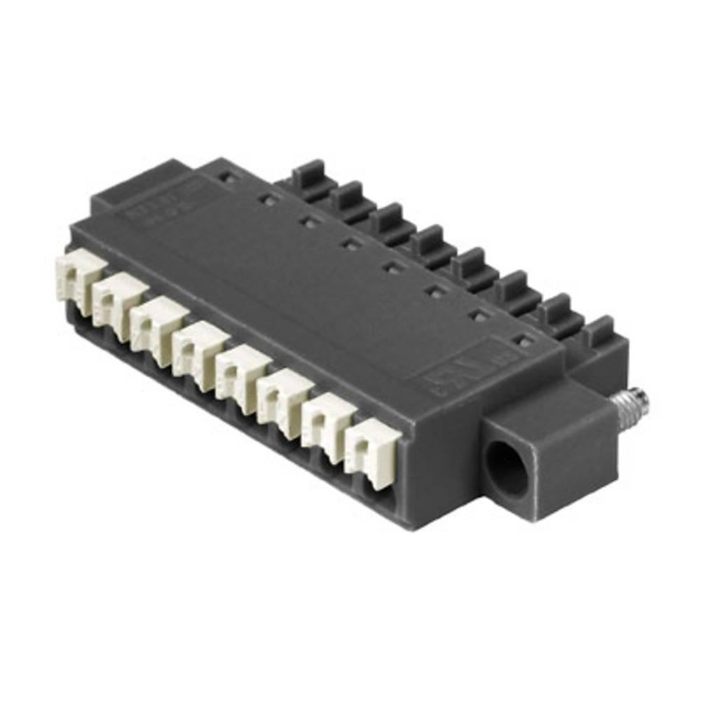 Vtični konektor za tiskana vezja črne barve Weidmüller 1971940000 vsebuje: 50 kosov