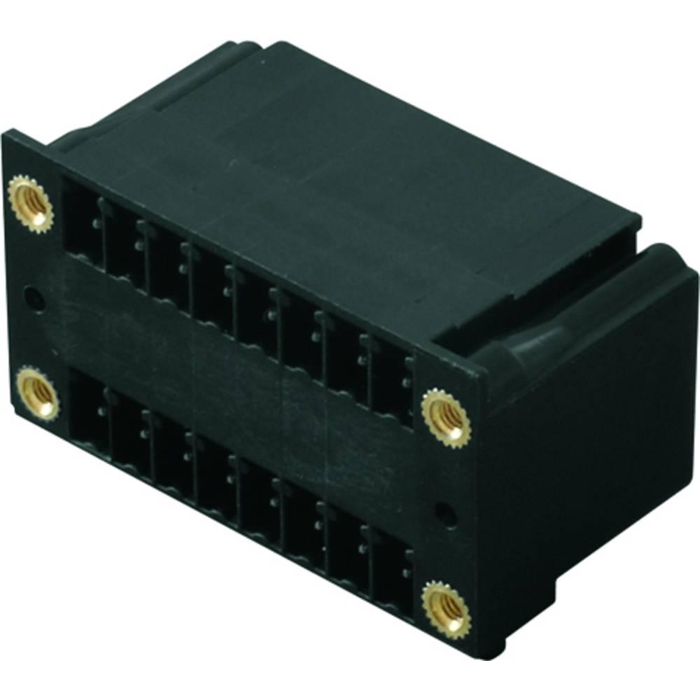 Vtični konektor za tiskana vezja črne barve Weidmüller 1973640000 vsebuje: 50 kosov