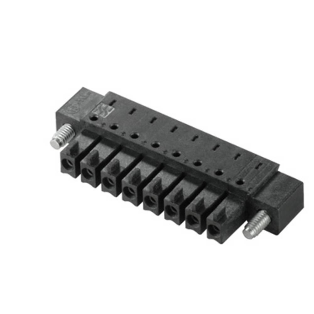 Tilslutningskabinet-printplade BC/SC (value.1360601) Samlet antal poler 9 Weidmüller 1975780000 Rastermål: 3.81 mm 50 stk