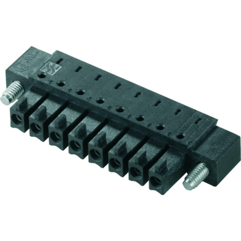 Tilslutningskabinet-printplade BC/SC (value.1360601) Samlet antal poler 8 Weidmüller 1975760000 Rastermål: 3.81 mm 50 stk
