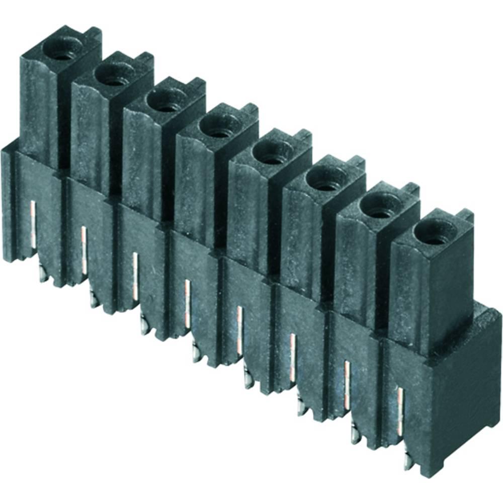 Vtični konektor za tiskana vezja črne barve Weidmüller 1976590000 vsebuje: 50 kosov