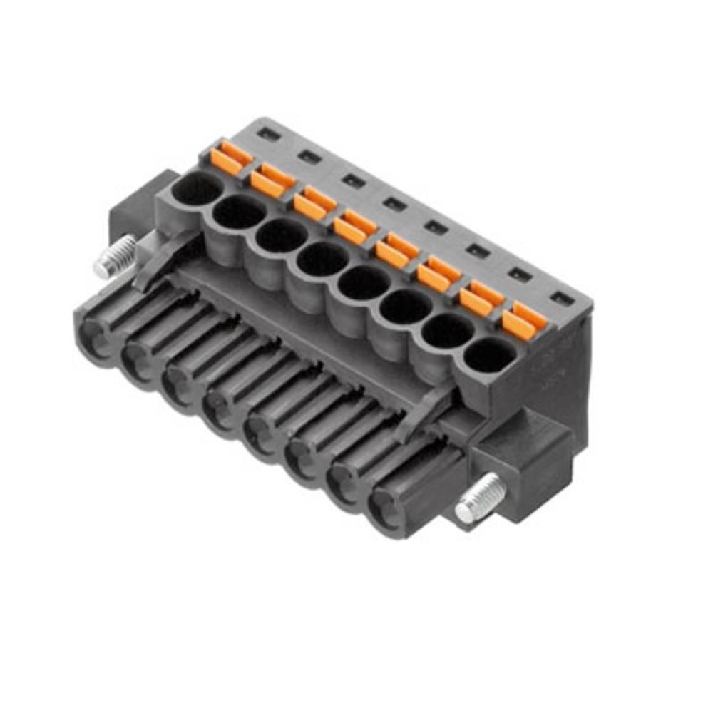 Tilslutningskabinet-kabel BL/SL (value.1360602) Samlet antal poler 16 Weidmüller 1979600000 Rastermål: 5 mm 18 stk