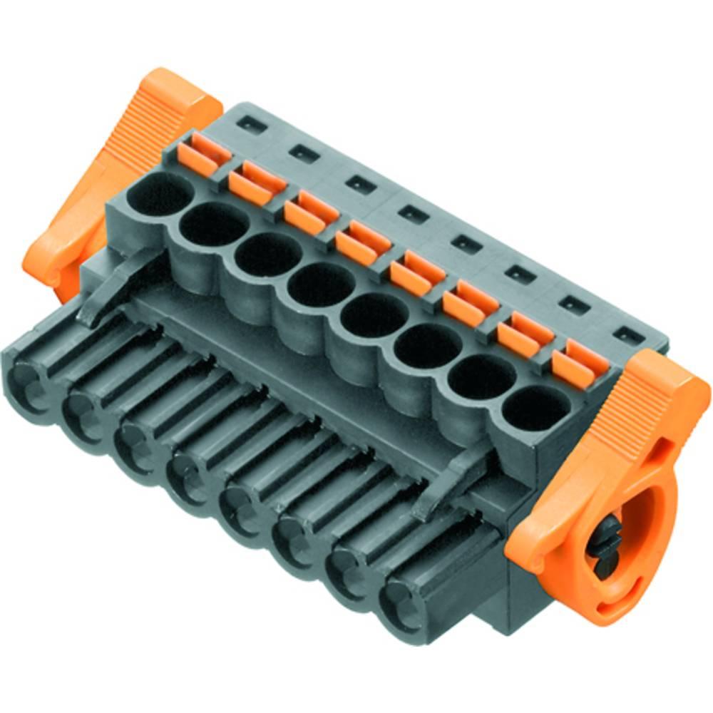 Vtični konektor za tiskana vezja črne barve Weidmüller 1979850000 vsebuje: 36 kosov