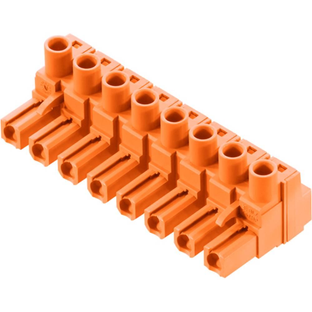 Tilslutningskabinet-kabel BL/SL (value.1360602) Samlet antal poler 3 Weidmüller 1980490000 Rastermål: 7.62 mm 100 stk