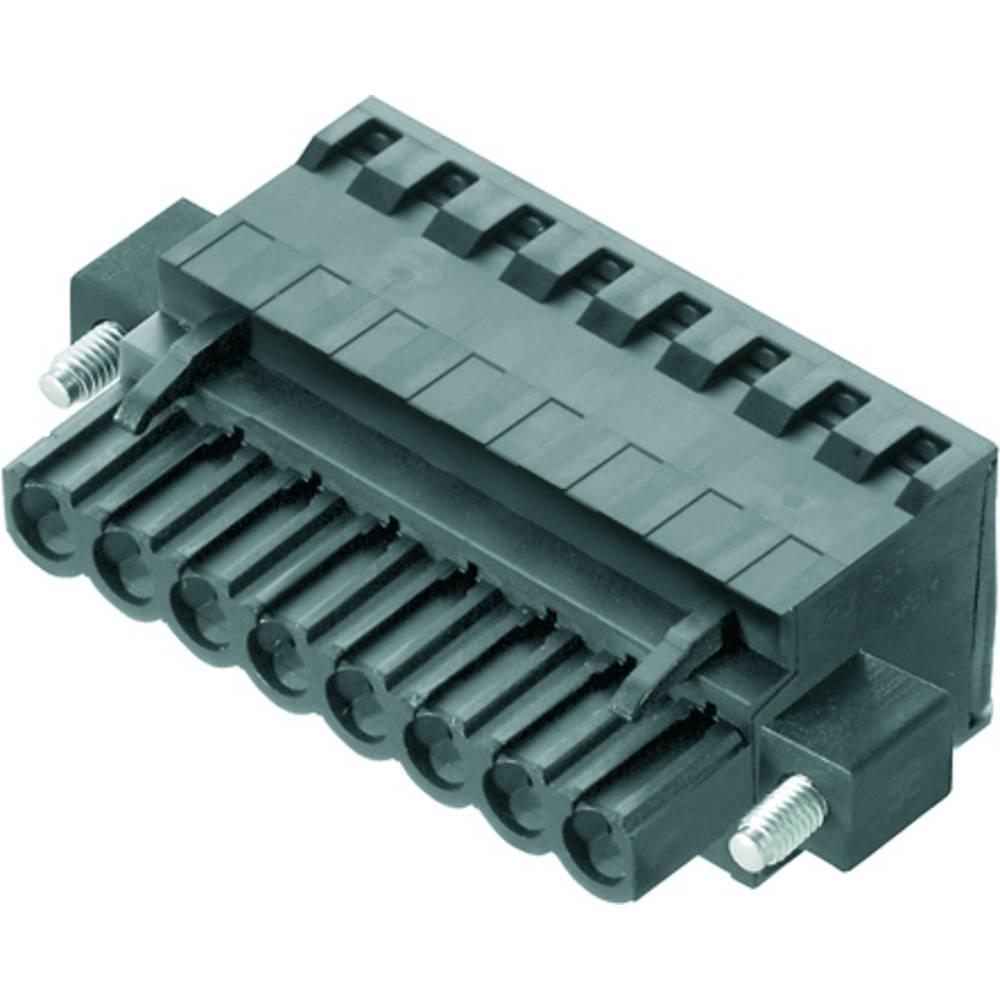 Vtični konektor za tiskana vezja črne barve Weidmüller 1982180000 vsebuje: 36 kosov