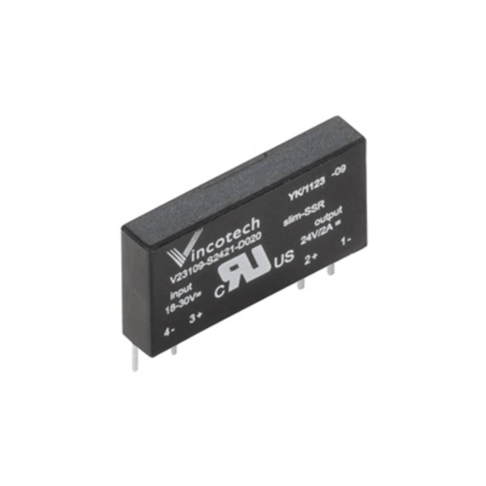 Halbleiterrelais (value.1292894) 20 stk Weidmüller SSS RELAIS 60V/24V 0,1ADC Last-Strøm (maks.): 100 mA Koblingsspænding (max.):