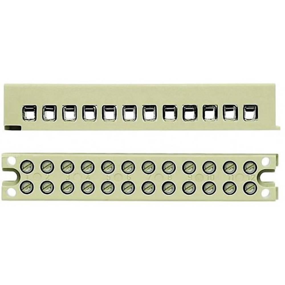 Multi-polet klemrække Weidmüller MK 3/3/E 7906120000 50 stk