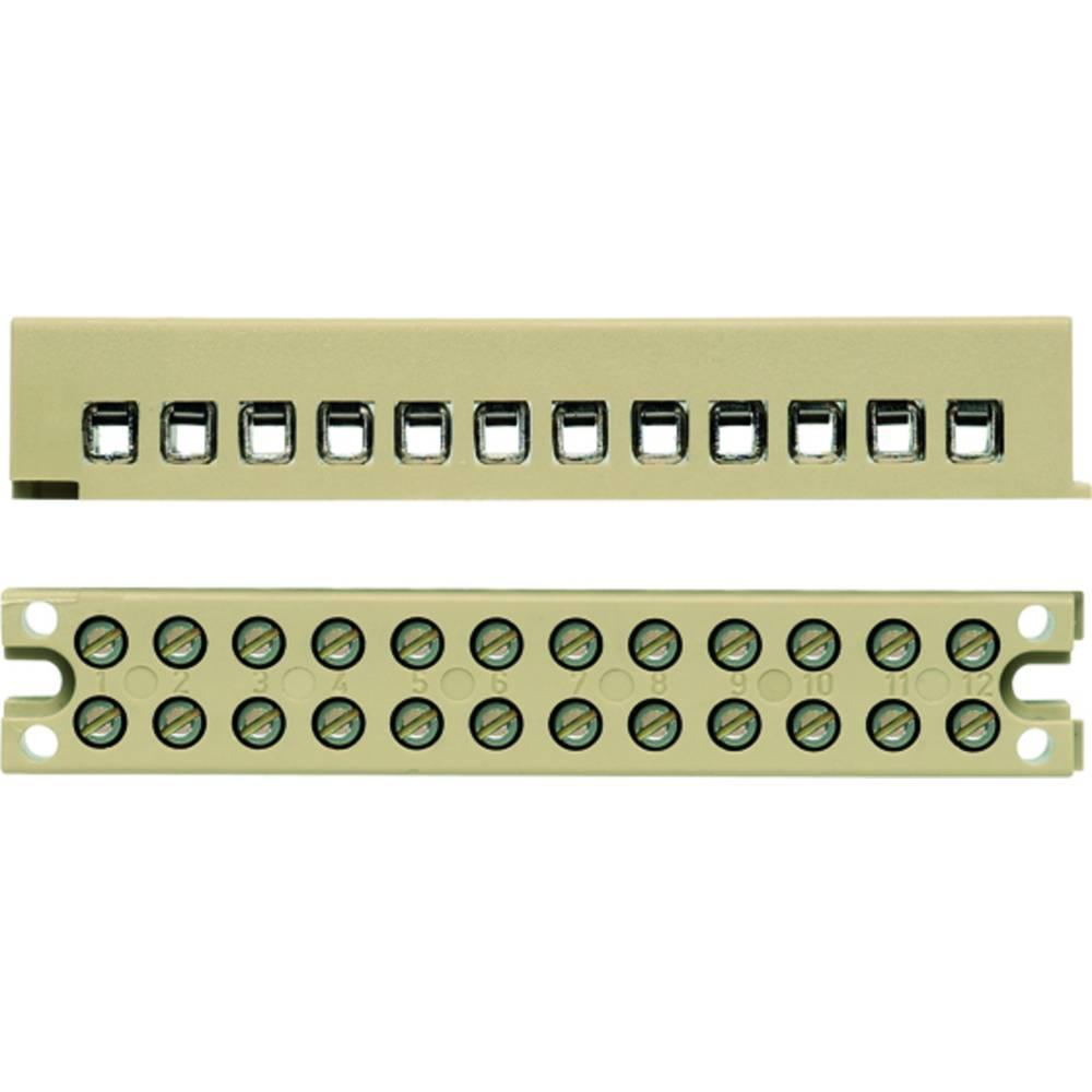 Multi-polet klemrække Weidmüller MK 3/6/E 7906150000 50 stk