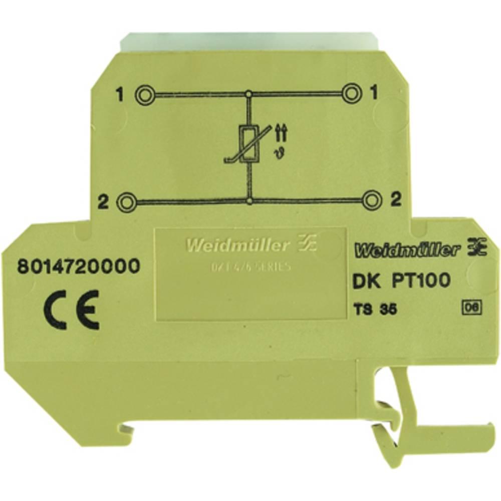 Reihenklemme (value.1292908) 10 stk Weidmüller DKT 4/35 PT100