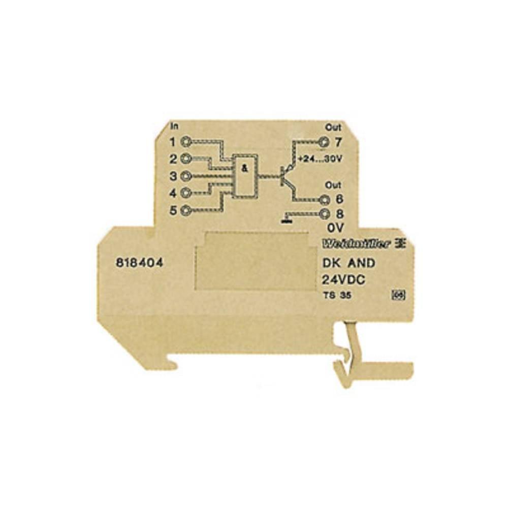 Funkcijski modul DK NAND 35 24VDC kataloška številka 8248320000 Weidmüller vsebuje: 5 kosov
