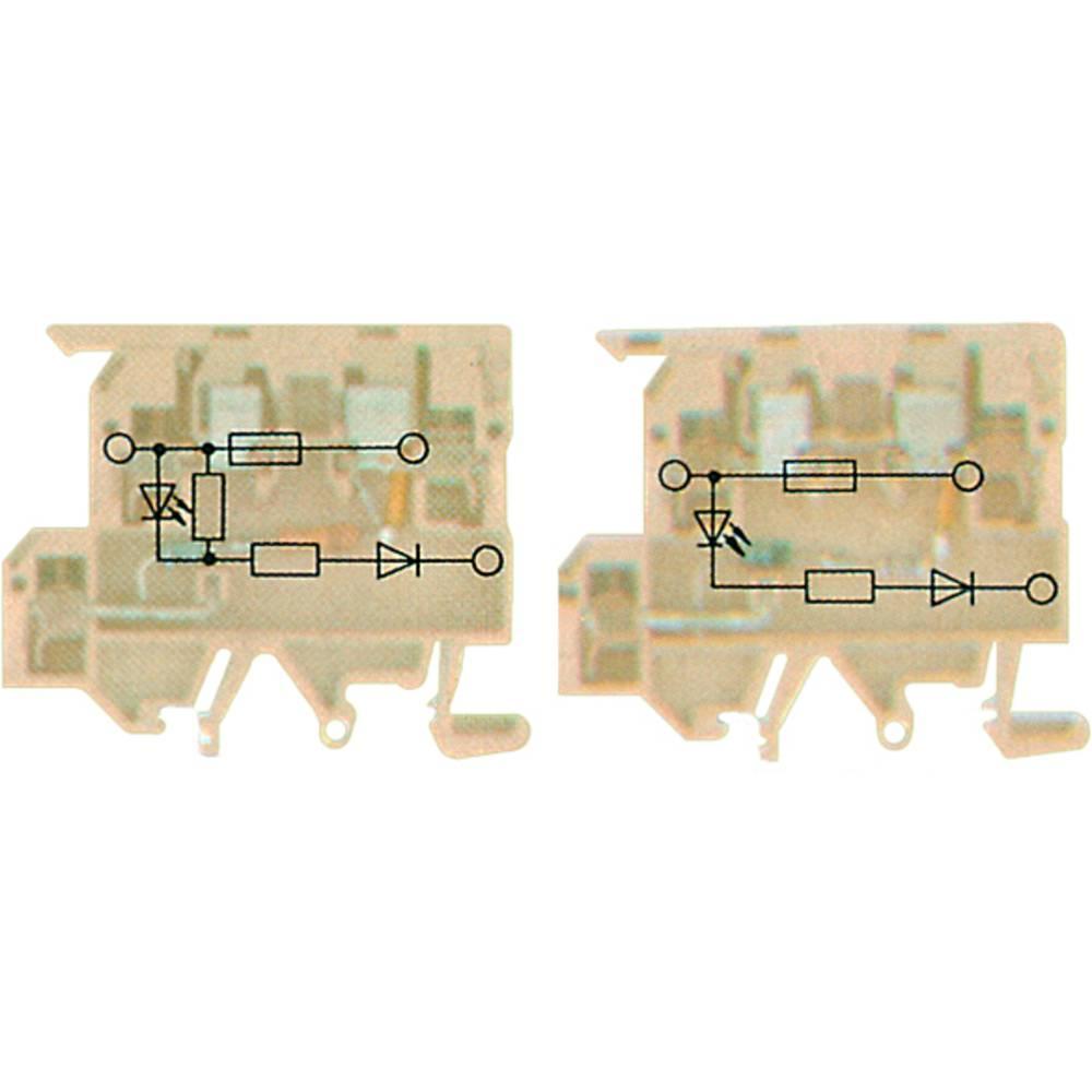 Fuse terminal Weidmüller KDKS1/EN LD 230VAC 8148910000 25 stk