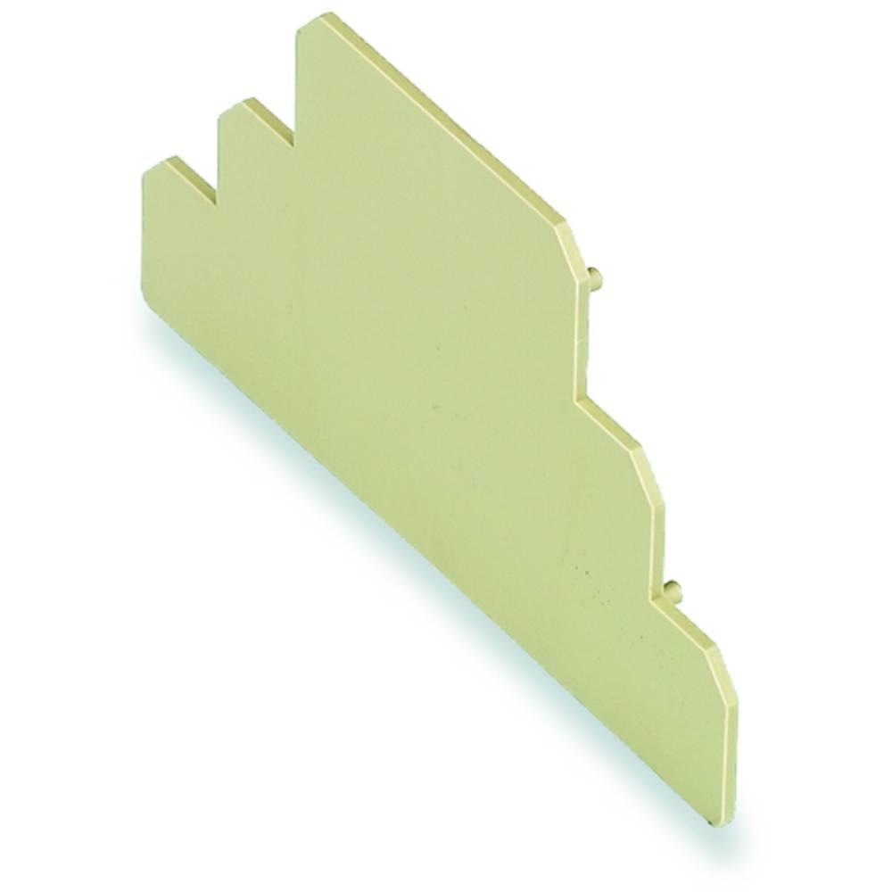 DIN-skinnekabinet endestykke Weidmüller AP DK5 PA BE 20 stk