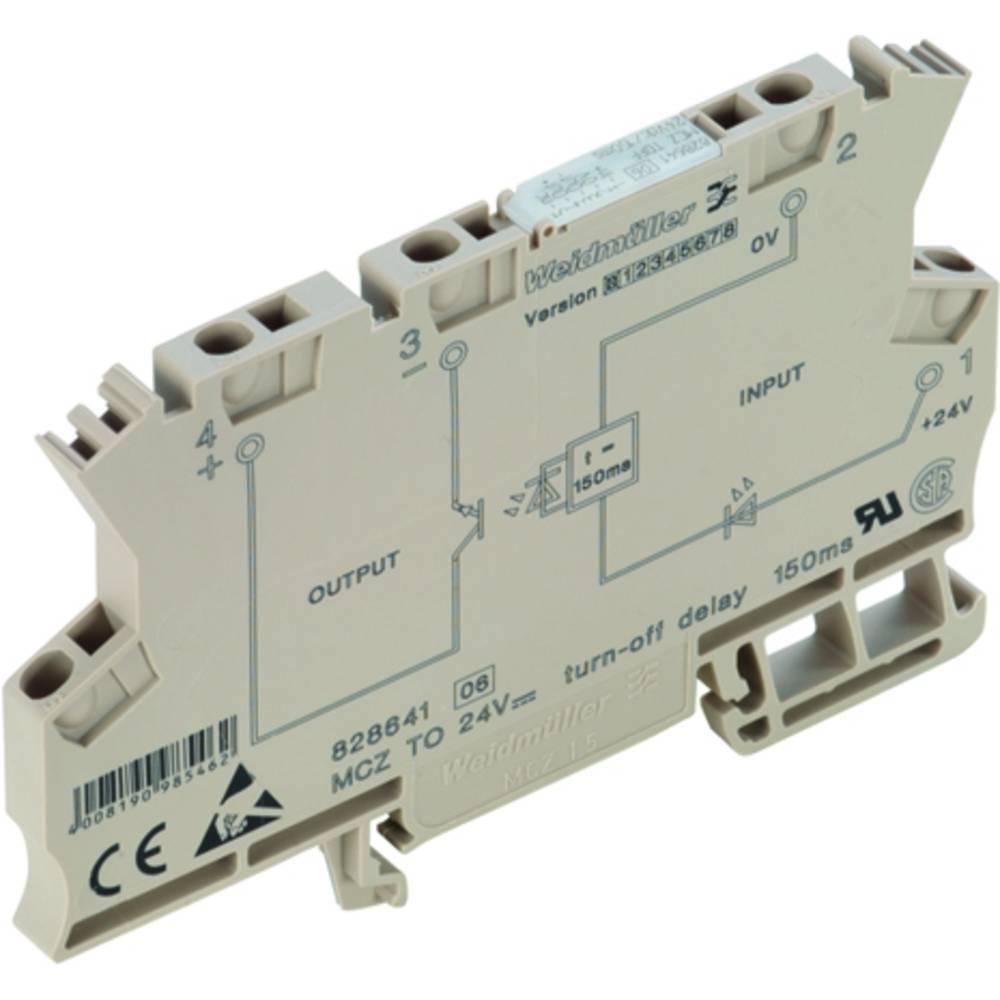Tidsrelæ Weidmüller MCZ TO 24VDC/150MS Monofunktionel 24 V/DC 1 x sluttekontakt 10 stk