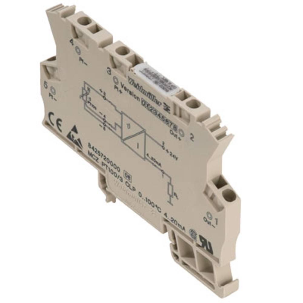 RTD-pretvornik MCZ PT100/3 CLP 0...300C kataloška številka 8473020000 Weidmüller vsebuje: 10 kosov