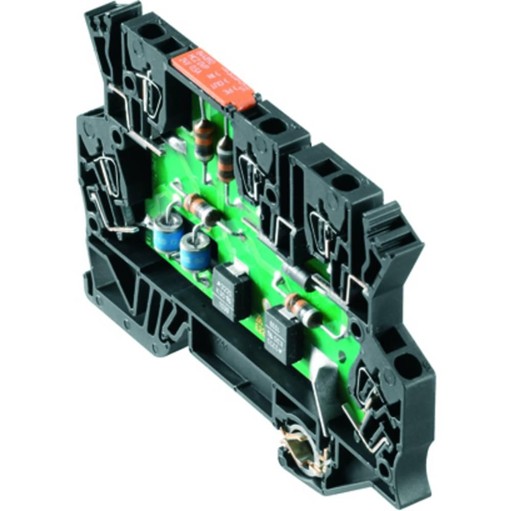 Prenapetostna zaščita MCZ OVP CL 24VDC 0,5A kataloška številka 8448920000 Weidmüller vsebuje: 10 kosov