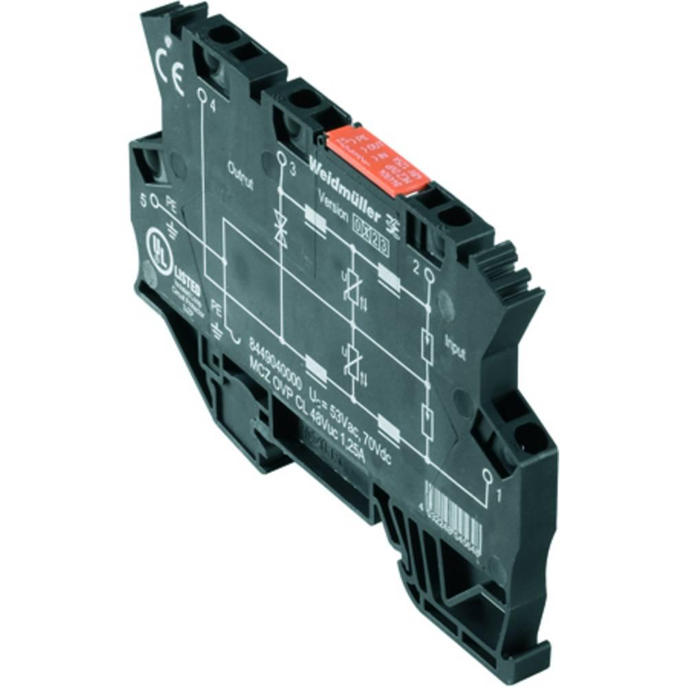 Prenapetostna zaščita MCZ OVP CL 48VUC 1,25A kataloška številka 8449040000 Weidmüller vsebuje: 10 kosov